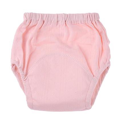Domybest - Pañales de malla transpirable para bebé, lavables, reutilizables, pantalones de entrenamiento