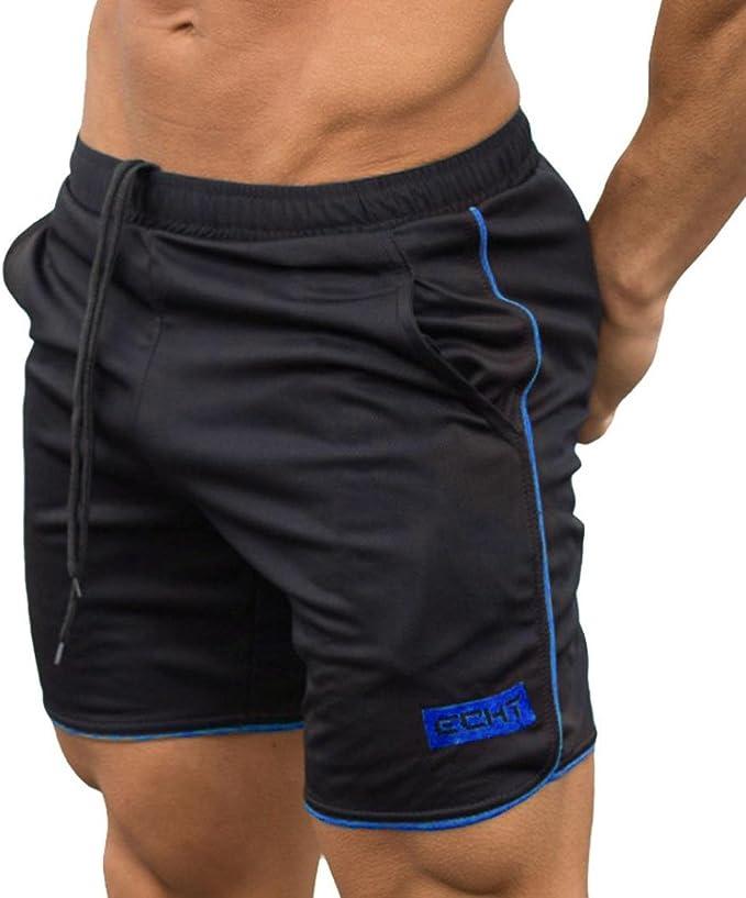 Mens Fitness Basketball Shorts Jogger Bodybuilding Gym Workout Sport Short Pants