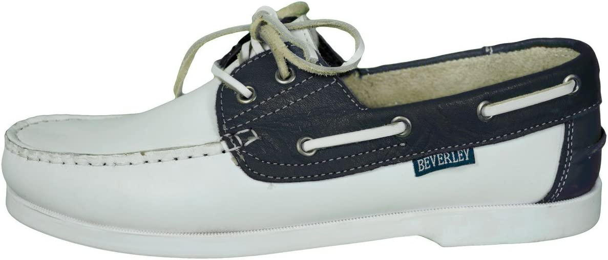 Beverly Originals-zapatos náuticos para hombre Casual-Men's Colour