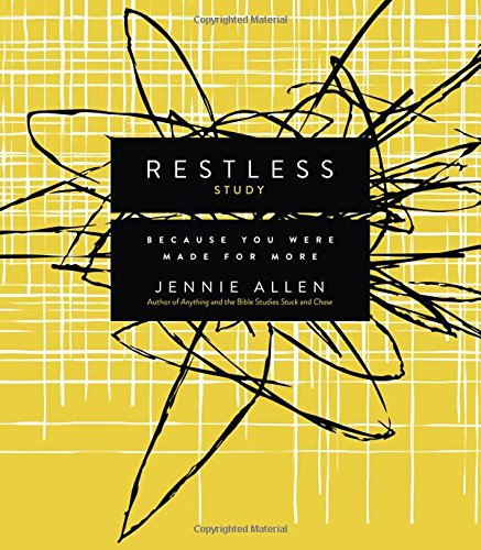 Restless Study Guide: Because You Were Made for - Allen Sales Mall Outlet