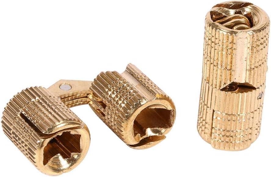 verstellbare Holzt/ür dreidimensionale Haushaltswaren verdeckte Scharniere Koet versteckte T/ürscharniere unsichtbare Scharniere Free Size M/öbel Siehe Abbildung nicht null