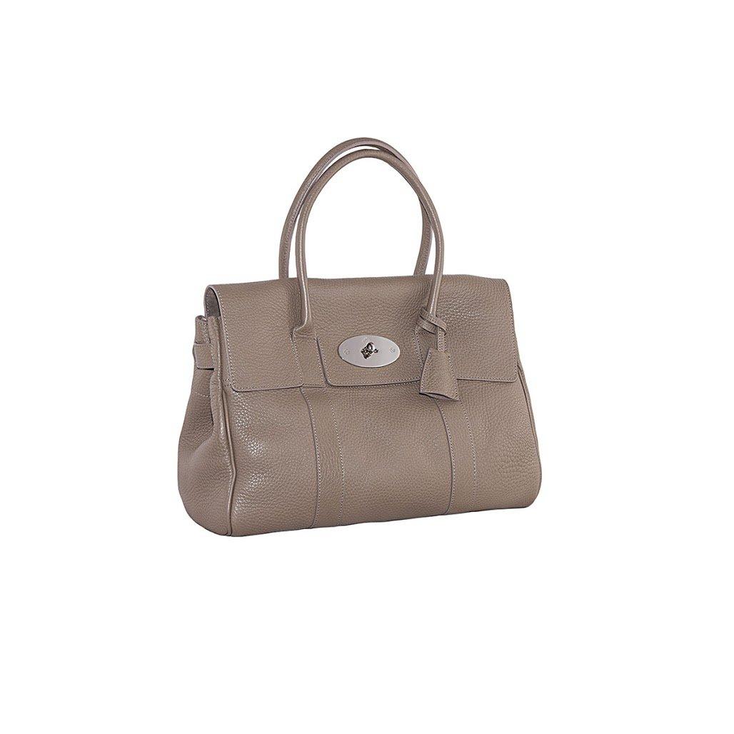 5cd647f8e939 Mulberry Women s Taupe Bayswater Handbag  Amazon.co.uk  Clothing