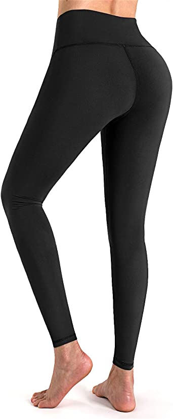 STYLEWORD Women's Leggings High Waist Yoga Pants Tummy Control Workout  Running Elastic Tights at Amazon Women's Clothing store