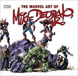 The Marvel Art Of Mike Deodato: Amazon.es: John R. Thomas ...