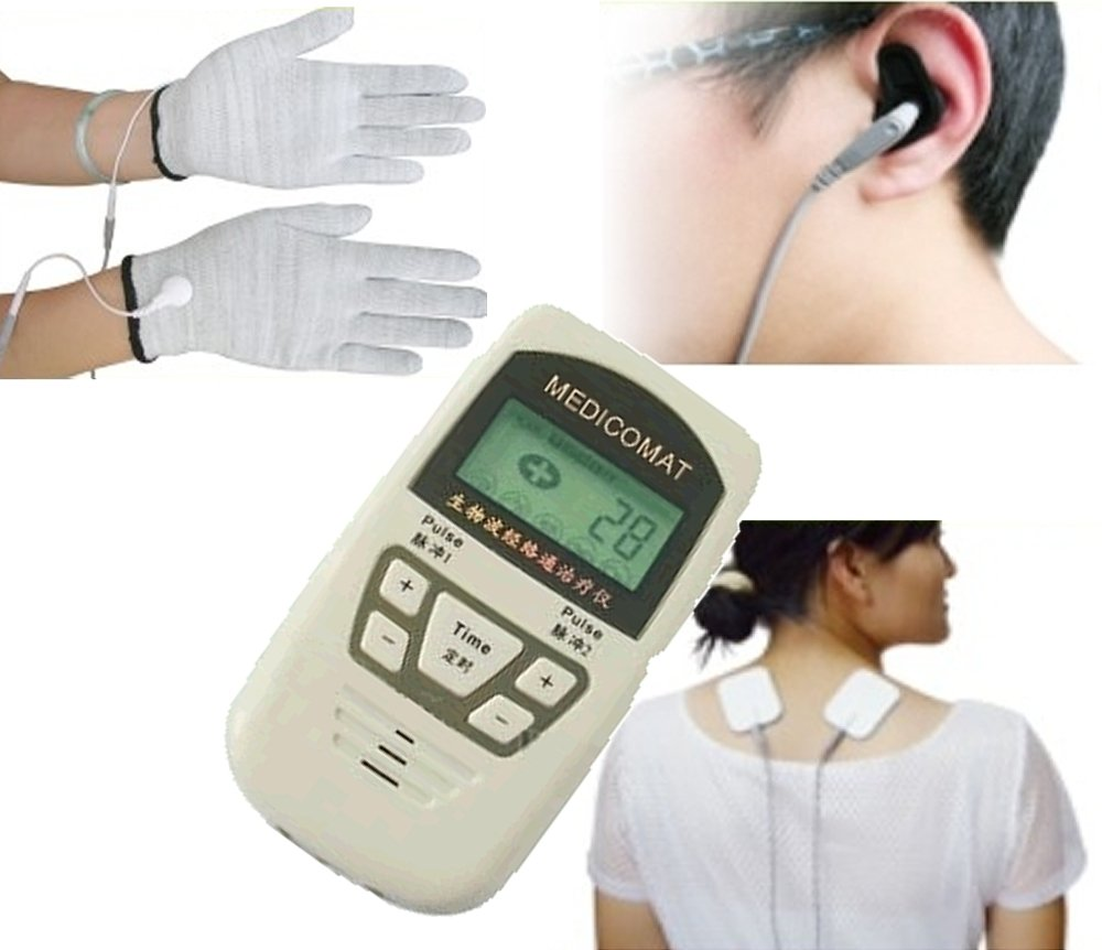 Diabetic Peripheral Neuropathy Treatment Medicomat-10A Painful Diabetic Neuropathy Relief Conductive Gloves