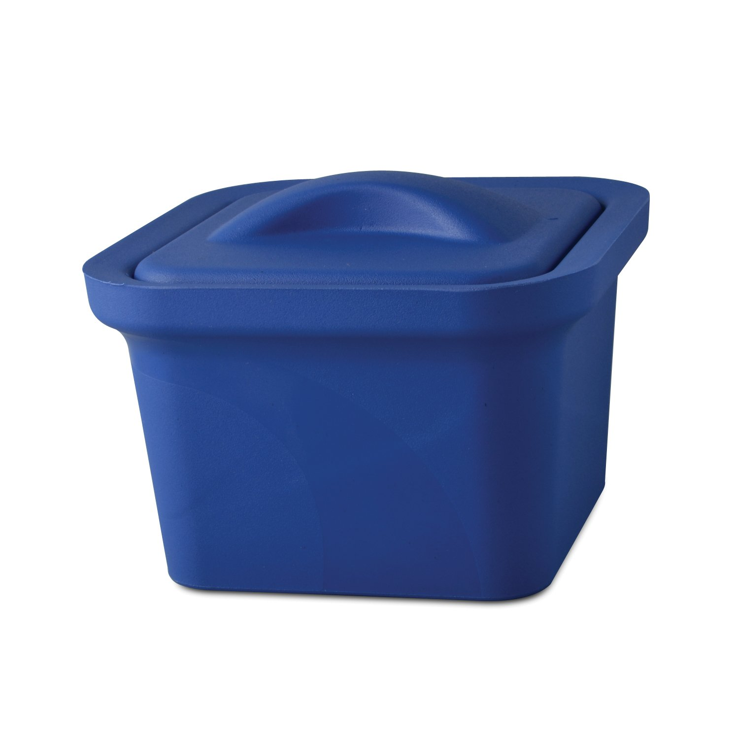 Bel-Art Magic Touch 2 High Performance Blue Ice Pan; 1.0 Liter Mini Model, with Lid (M16807-1101)