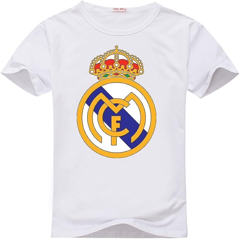 anedreabe mujeres del diseño O-Neck Camiseta Real Madrid ...