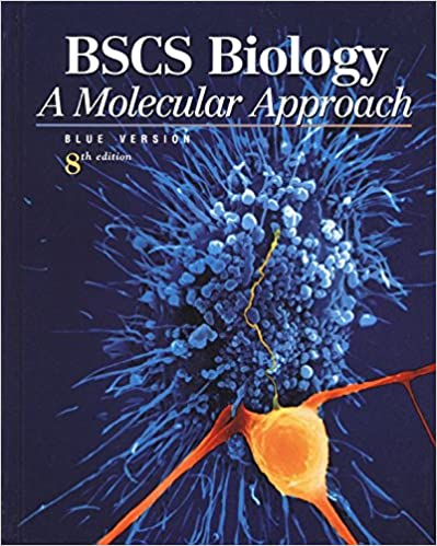 Amazon com: BSCS Biology, Student Edition: A Molecular