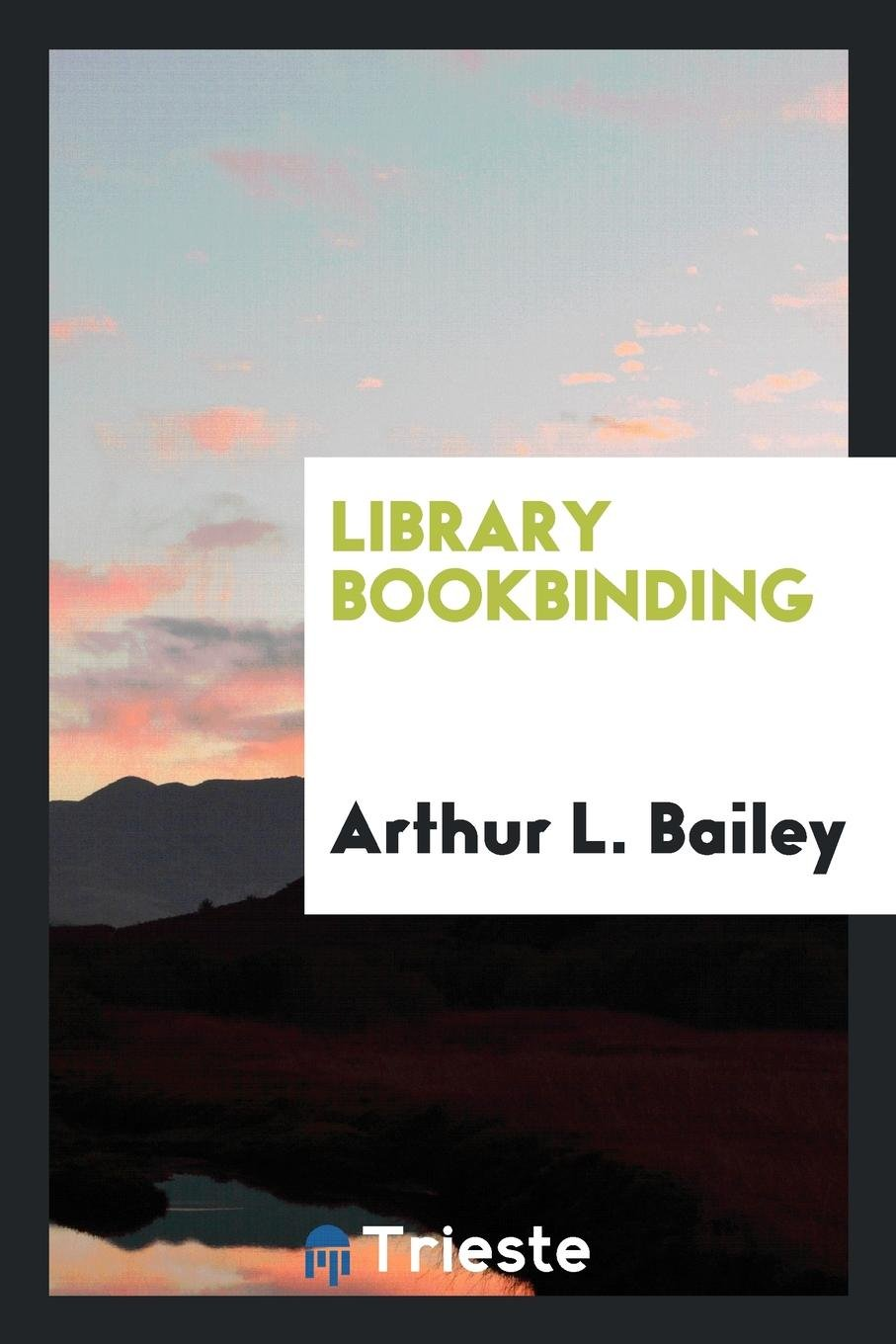 Library bookbinding pdf epub