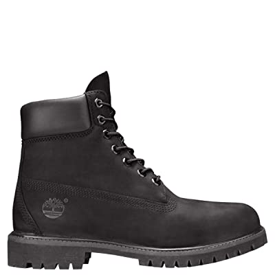 "Timberland 6"" Premium Boot Men's Style : 10073, 9M US, Black   Hiking Boots"