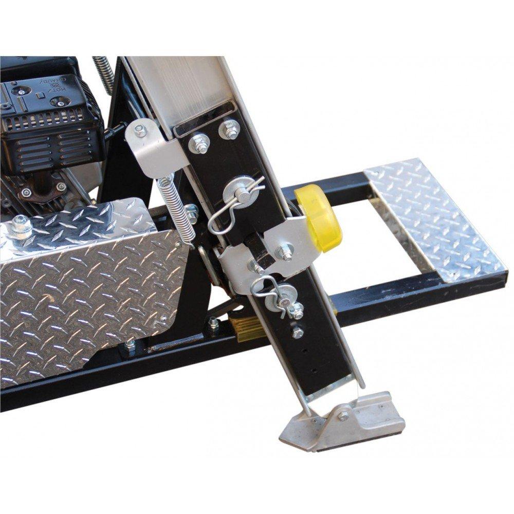 TranzSporter TP4000-400lb Ladder Hoist Electric Motor 28ft
