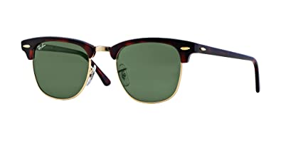 4ddd7cec4a Image Unavailable. Image not available for. Color  Ray Ban RB3016 W0366 49  Tortoise Arista Clubmaster Sunglasses ...