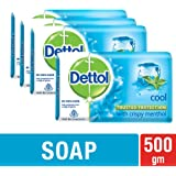 Dettol Cool Soap, 125g (Buy 3 + Get 1 Free of 125g Cool Soap)