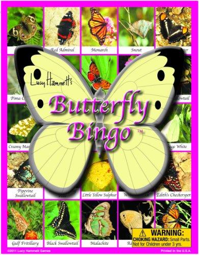 - Lucy Hammett Games Butterfly Bingo Board Game