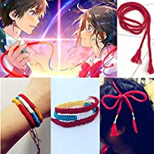 You name the male models with hand rope bracelet animation around Shinkai s braided hair band hair rope bracelet