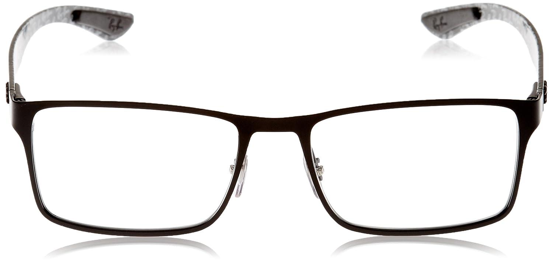 721de0d5dd8ae Amazon.com  Ray-Ban Men s 0rx8415 No Polarization Rectangular Prescription Eyewear  Frame