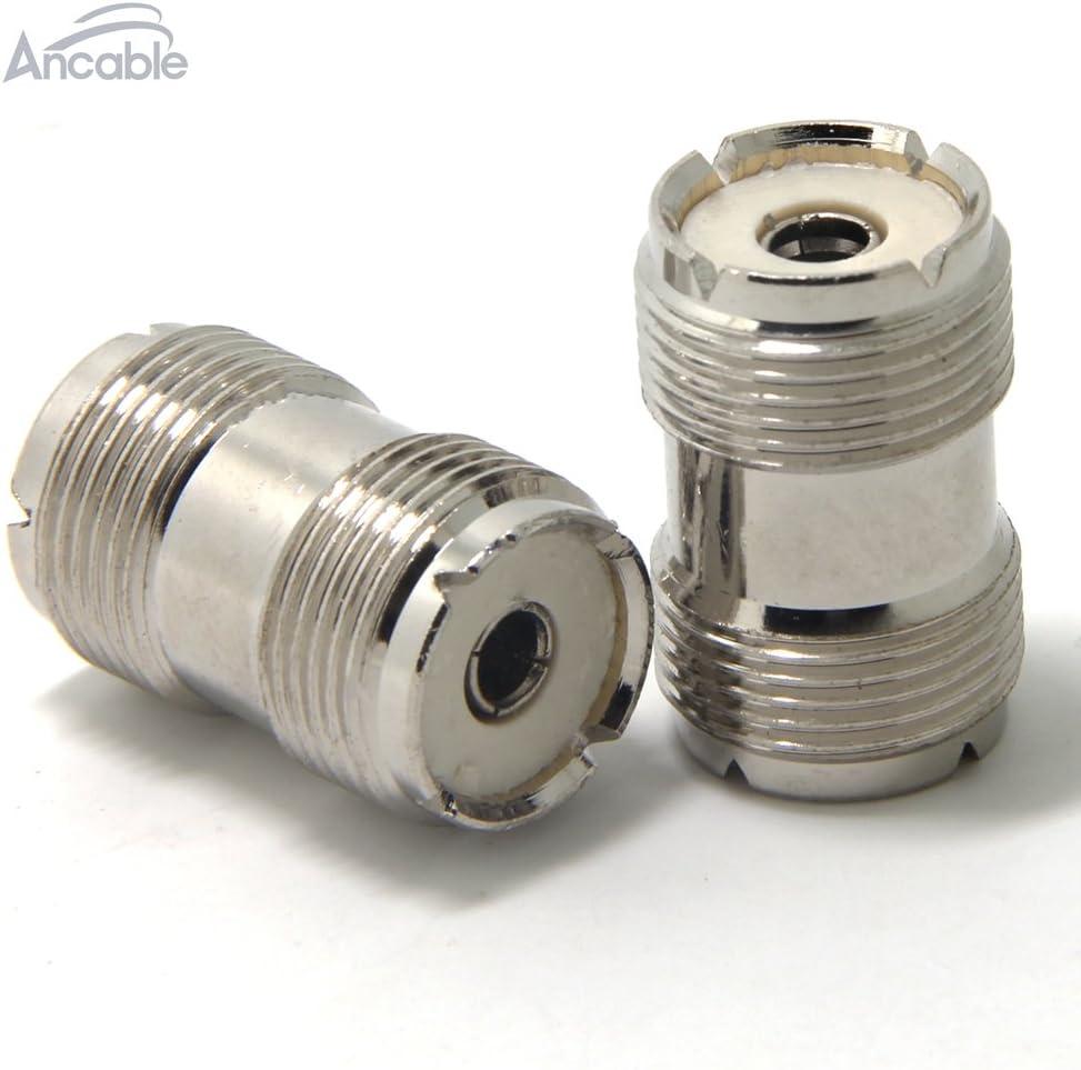 Connettore tubo UHF femmina-femmina 5 pz