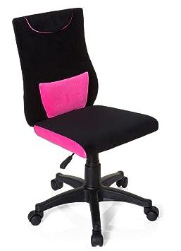 Hjh OFFICE 670490 Chaise De Bureau Enfant Pour KIDDY PRO Noir