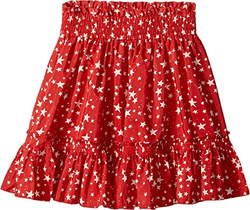 Stella McCartney Kids Baby Girl's Twinkle Star Print Pleated Skirt (Toddler/Little Kids/Big Kids) Red Youth 12 Big by Stella McCartney Kids