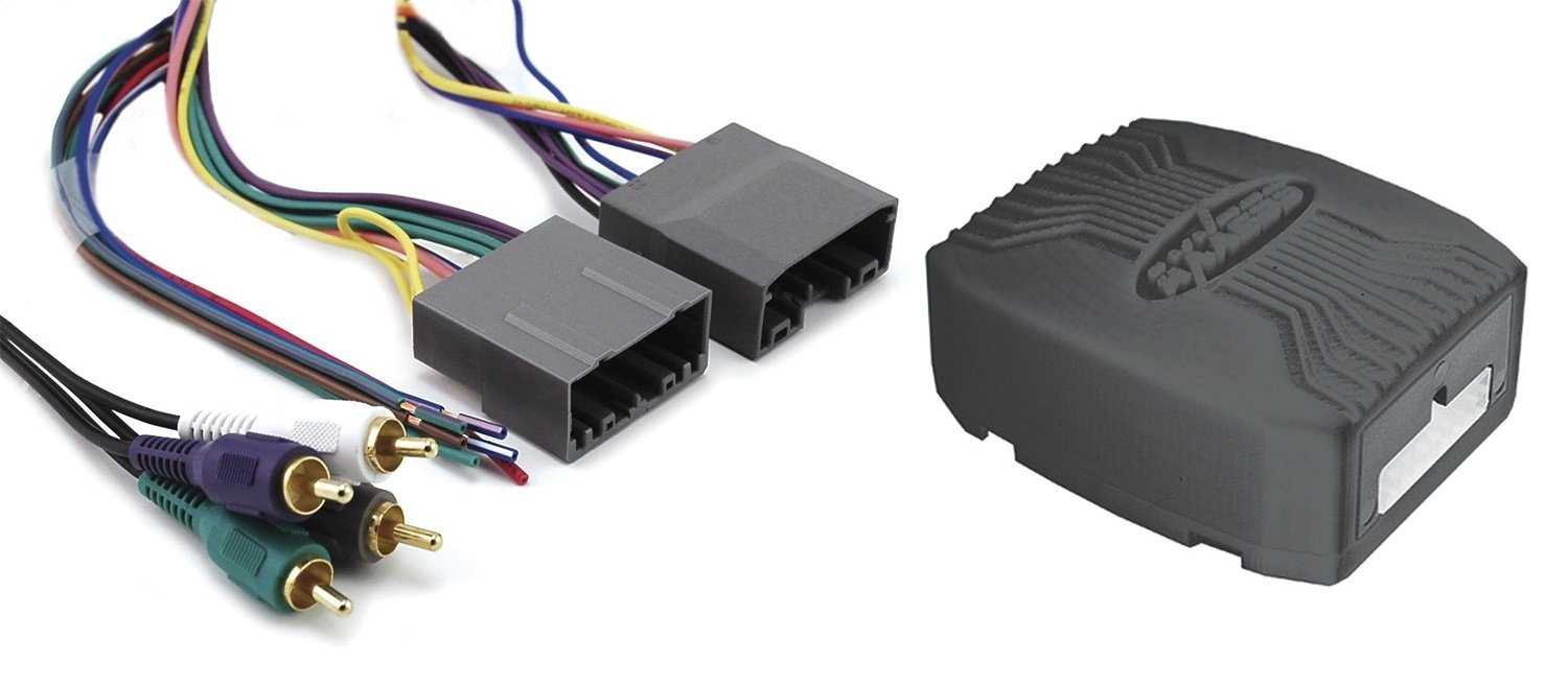 Axxess Chto 013 Amplifier Interface Harness For Select Wiring 2008 Chrysler Aspen 2004 Dodge Jeep Mitsubishi Vehicles Discontinued By Manufacturer Car