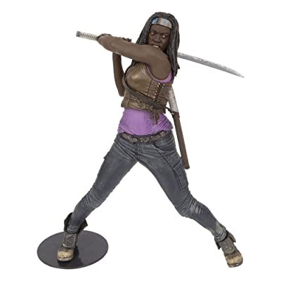"McFarlane Toys The Walking Dead TV - 10"" Michonne Deluxe Figure: Toys & Games"