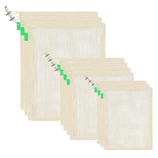Pinji Bolsa de Producción Reutilizable de Algodón Orgánico ...