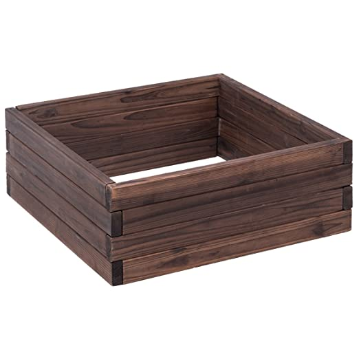 EsouK - Caja de Madera para macetas de jardín, diseño de Flores ...