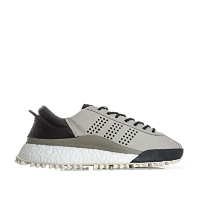 61d71a3d8233 adidas Mens Originals Mens Alexander Wang Hike Low Trainers in Grey - UK 9