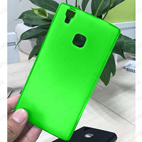 Funda carcasa para DOOGEE X5 MAX / X5 MAX PRO Gel Tpu LISO MATE Color VERDE