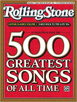 Amazon com: Selections from Rolling Stone Magazine's 500 Greatest