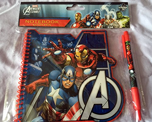 Marvel Avengers Assemble Notebook With Pen