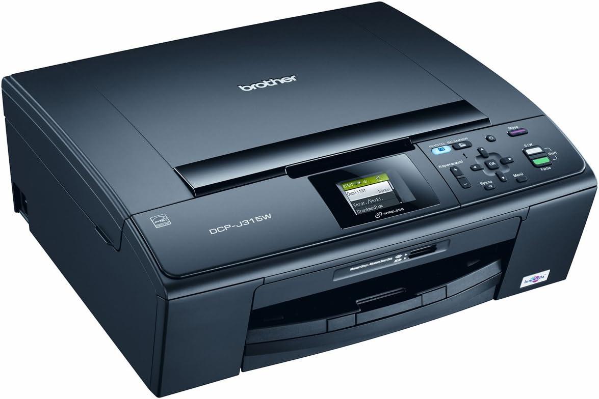 Brother DCP-J315W - Impresora Multifunción Color: Amazon.es ...
