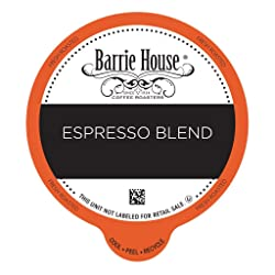 Barrie House Espresso Blend Value Pack Capsules