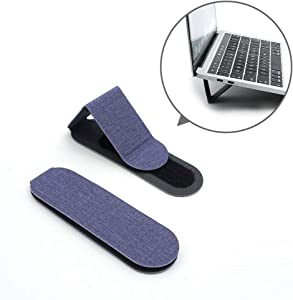 """SenseAGE Mini Portable Laptop Stand, Lightweight Laptop Stand, First On-The-go Notebook Stand, Compatible with MacBook/MacBook Air/MacBook Pro, Tablets and Laptops up to 15"""", Purple (1 Set, 2 Pack)"""