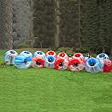 BubbleU24(TM) 14 Inflatable Bubble Balls Package For Bubble Soccer Football Human Zorb Ball Bumper With 2 Free Pump
