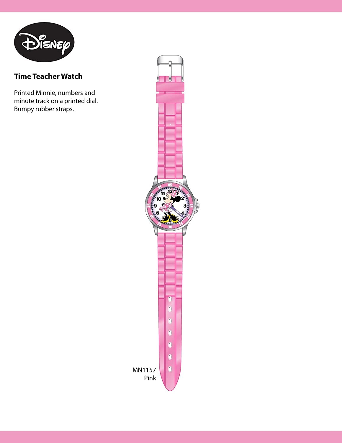 Image result for Disney Girl's Quartz Metal and Rubber Watch
