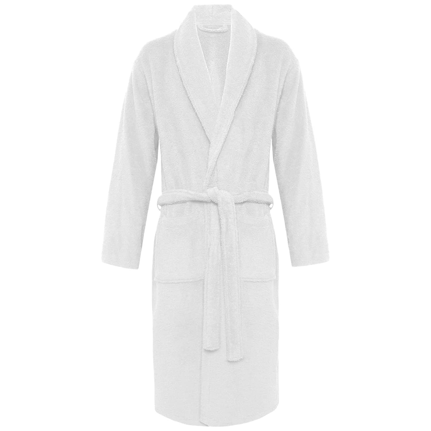 f985c99216 MyShoeStore Womens Mens 100 % Luxury Egyptian Cotton Super Soft Terry  Towelling Bath Robe Unisex