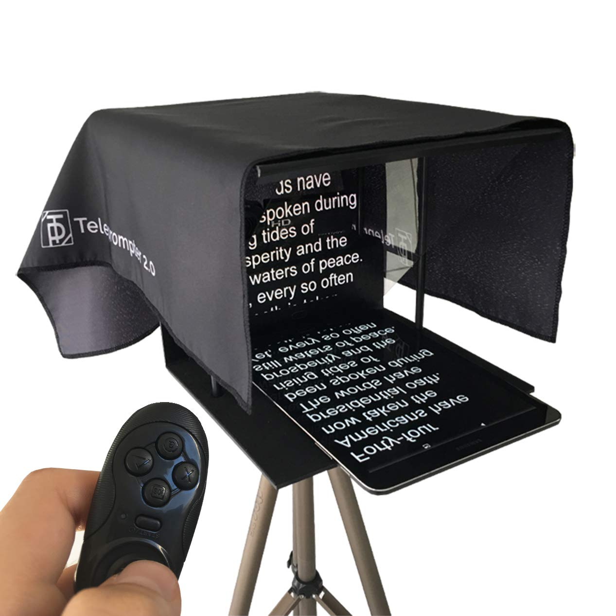Teleprompter 2.0 (Including Remote Control)