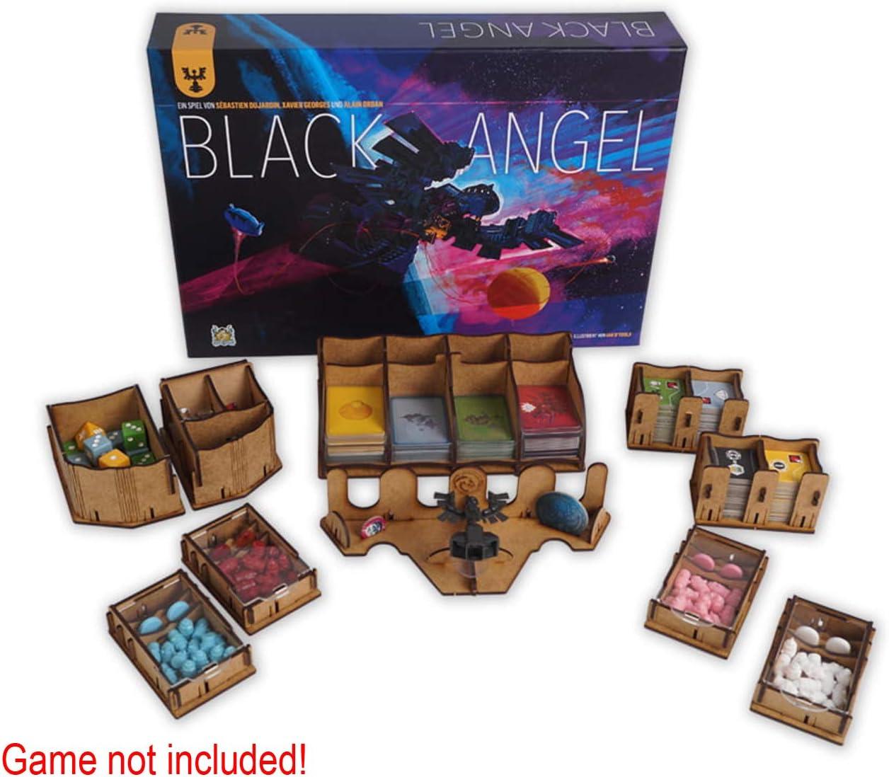 docsmagic.de Organizer Insert for Black Angel Box - Encarte: Amazon.es: Juguetes y juegos