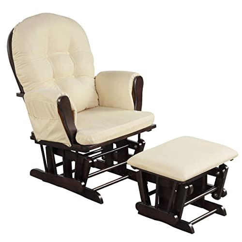 Costzon Baby Glider and Ottoman Cushion Set Review