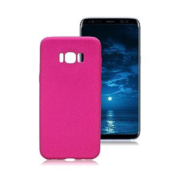 Yunbaozi Funda Compatible para Samsung Galaxy S8 Plus, Carcasa Peludo TPU * [Ultra Suave] [Sentir Fregar] [Caramelo Gelatina] * Anti-rasguños Anti ...