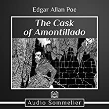 The Cask of Amontillado Audiobook by Edgar Allan Poe Narrated by Larry G. Jones