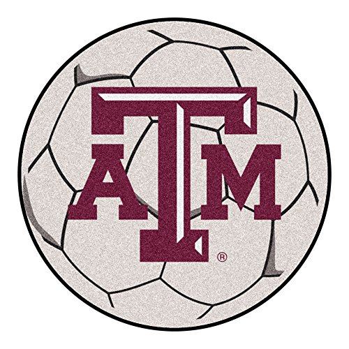 (Fan Mats Texas A&M Soccer Ball Rug)
