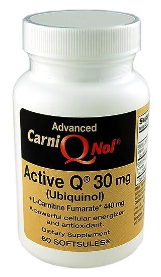 Amazon.com: qnol bio-enhanced Ubiquinol Coq10 con 440 MG L ...