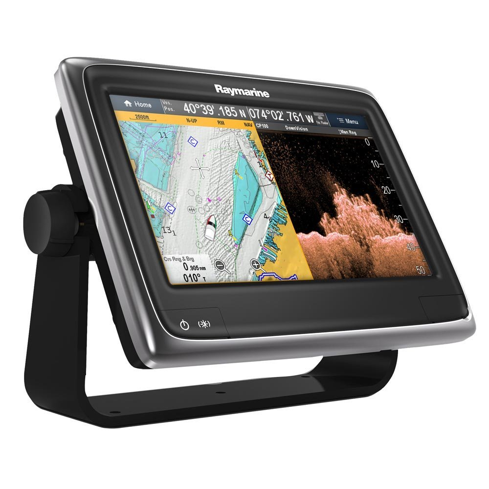 Amazon Com Raymarine A98 Multifunction Display With Downvision Wi Fi Usa C Map Essentials 9 Sports Outdoors