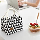 Wanshop® Lunch Boxes for You Fashion portable practical Thermal Insulated Tote Picnic Lunch Cool Bag Cooler Box Handbag Pouch (B)