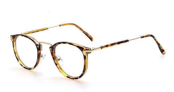Men And Women Small Fresh Retro Round Frame Glasses Flat Light Mirror 863562f58cc