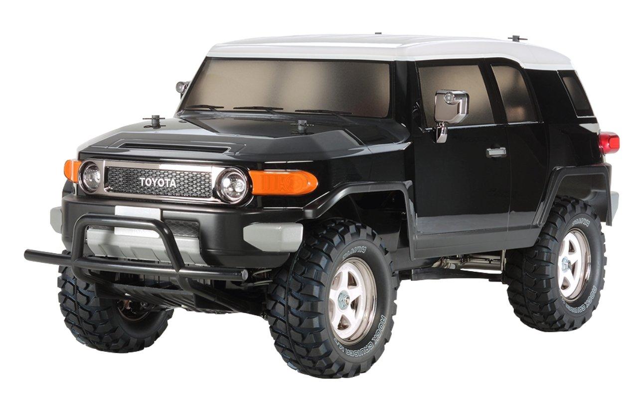 TAMIYA 300058620 - 1:10 RC Toyota FJ Cruiser CC-01, schwarz