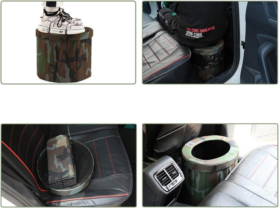 Fayelong Tragbar Falten Reise-Toilette Wagen Kommode Camping Aufbewahrungshocker zum Notfall Draussen Toilette L