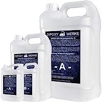3,0kg DIPOXY-2K-700 epoxyhars, 2K hars met verharder, EP lamineerhars in professionele kwaliteit, glashelder en geurarm…